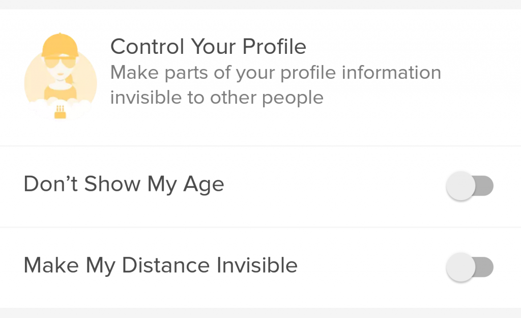 You can choose to not show your age on Tinder Plus.