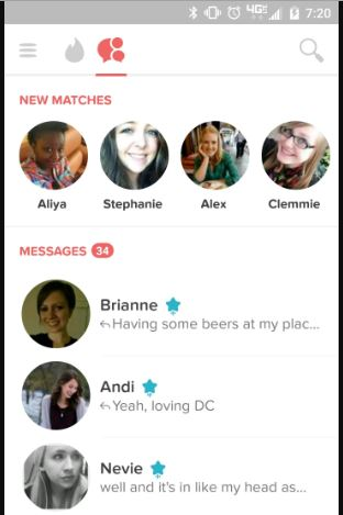 Girls feel important when they get a super like.