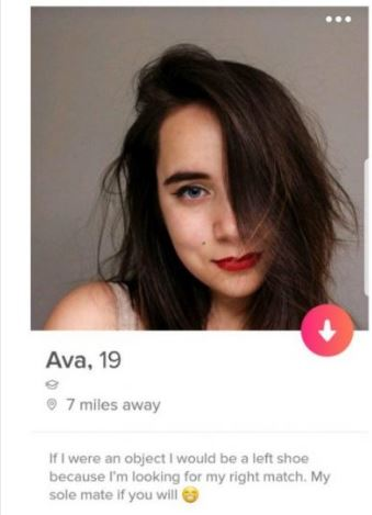 A girl's bio is very important to help you make conversation with her.