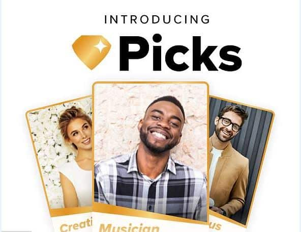 Top Picks help you see who may be a potential match for you before you swipe.