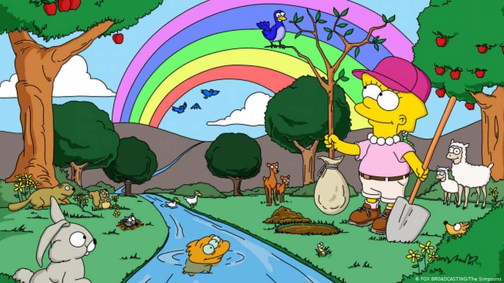 Lisa Simpsons loves nature and so do many other girls.