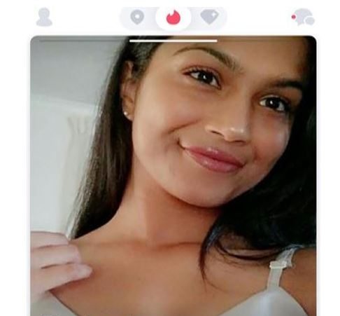 Tinder has the profile, matches and messaging buttons