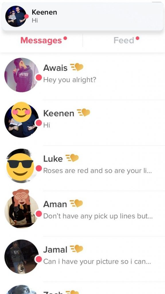Tinder Plus users get their messages read first by girls.