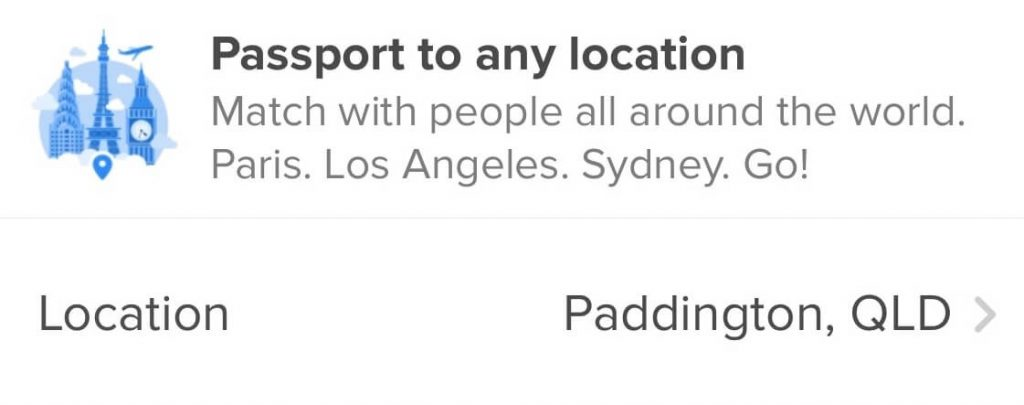Using Tinder Passport, you can alter your real location and spoof other Tinder users.