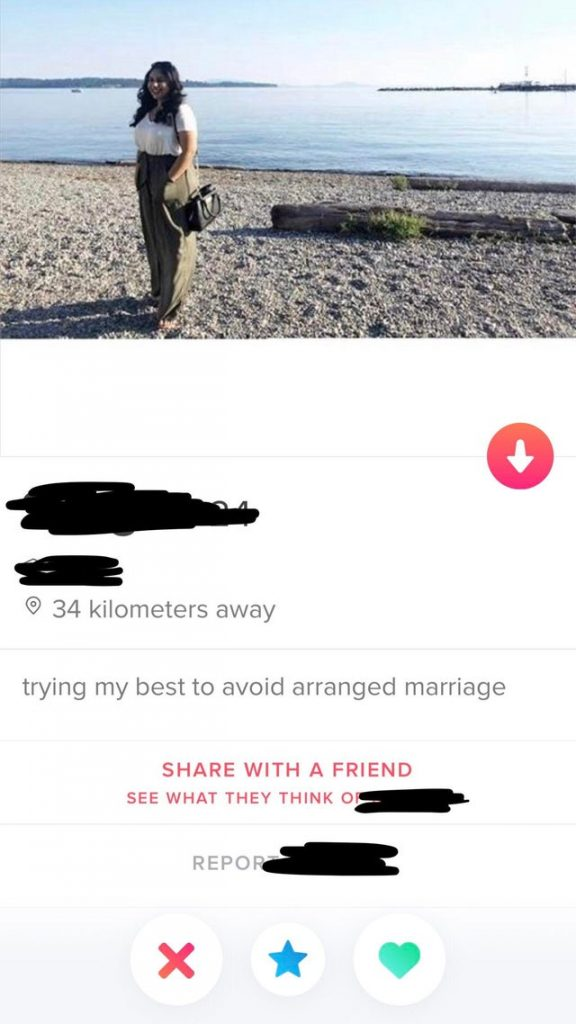 Funny Tinder Bio Example