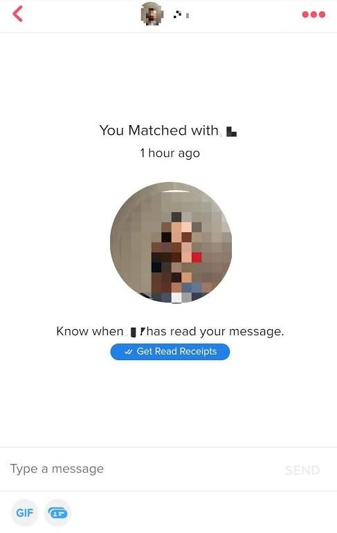 Message your match, don't make wait