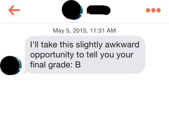Tinder Match Text