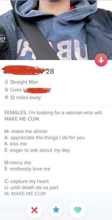 Bio girl tinder examples for Swipe Life