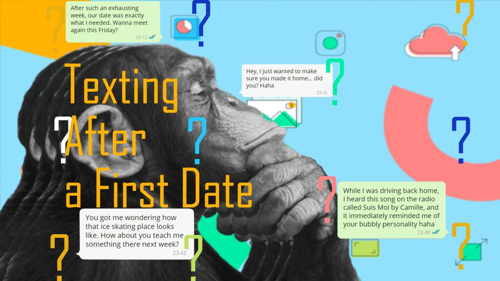 First text thank examples after you date Date Etiquette: